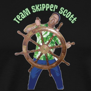 Skipper Scott Helm - Men's Premium T-Shirt