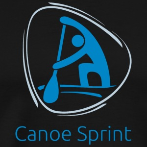 Canoe_sprint - Men's Premium T-Shirt