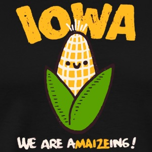 IOWA We are a MAIZE ing - Men's Premium T-Shirt
