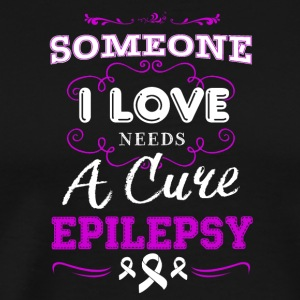 Needs A Cure Epilepsy Shirt - Men's Premium T-Shirt