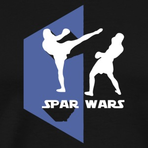 Spar Wars Karate MMA T-shirt - Men's Premium T-Shirt