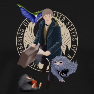 Newt and the gang T-Shirt - Men's Premium T-Shirt