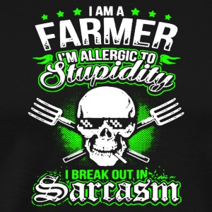 I Am A Farmer T Shirt - Men's Premium T-Shirt