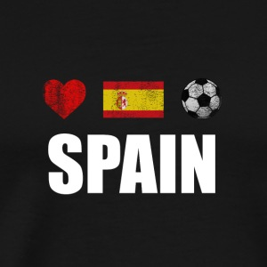 Spain Football Spaniard Soccer T-shirt - Men's Premium T-Shirt