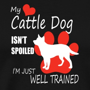 Cattle Dog Shirt - Men's Premium T-Shirt