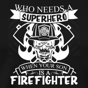 Firefighter Tee Shirt - Men's Premium T-Shirt