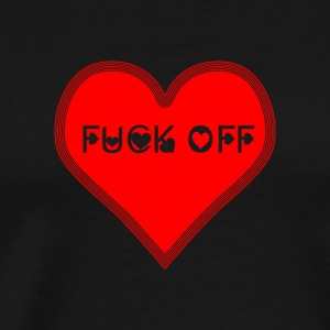 A fuck off for valentine's day - Men's Premium T-Shirt