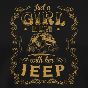 Just a girl in love with her Jeep - Men's Premium T-Shirt