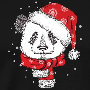 Panda Christmas Sweater Hoodie Tshirt - Men's Premium T-Shirt