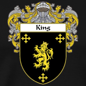 King Coat of Arms - Men's Premium T-Shirt