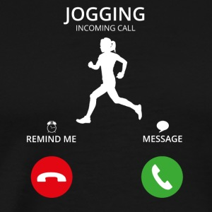 Call Mobile Anruf running jogging - Men's Premium T-Shirt