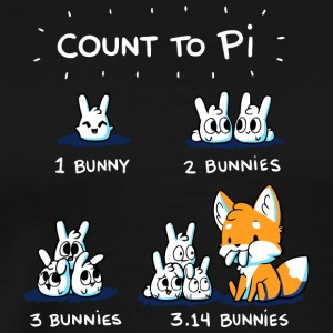 Count To Pi - Men's Premium T-Shirt