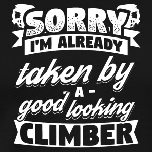 Funny Climbing Climber Shirt Already Taken - Men's Premium T-Shirt