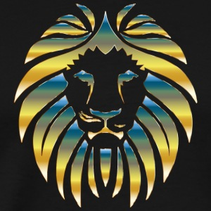 Prismatic Lion Design - Men's Premium T-Shirt