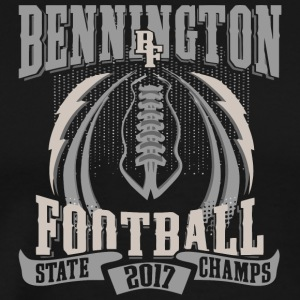 Bennington BF Football State 2017 Champs - Men's Premium T-Shirt