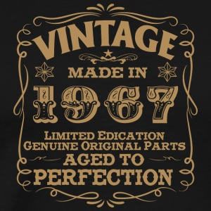 1967 - 50th Birthday Vintage Made In 1967 - Men's Premium T-Shirt