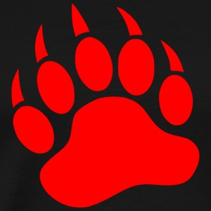 red paw - Men's Premium T-Shirt