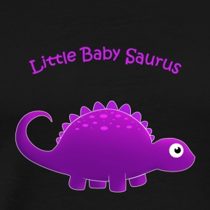 Putple Little Baby Saurus - Men's Premium T-Shirt