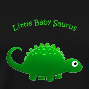 Green Little Baby Saurus - Men's Premium T-Shirt