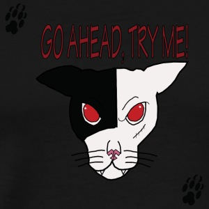 TryMe! Cat T Shirt - Men's Premium T-Shirt