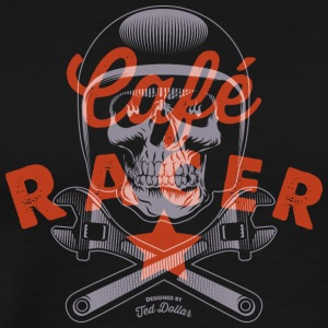 Cafe Racer motorcycle - Men's Premium T-Shirt