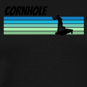 Retro Cornhole - Men's Premium T-Shirt