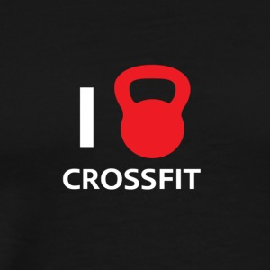 I love crossfit! - Men's Premium T-Shirt