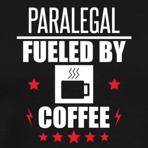 Paralegal Fueled By Coffee - Men's Premium T-Shirt