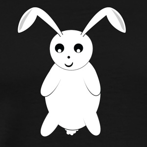 rabbit bunny cony hare buck carrot beet turnip rab - Men's Premium T-Shirt
