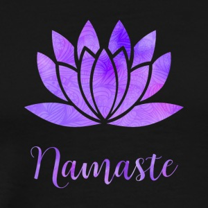 Namaste Lotus - Men's Premium T-Shirt