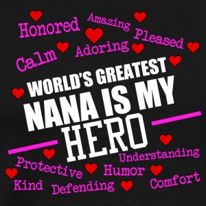 Greatest nana - Men's Premium T-Shirt