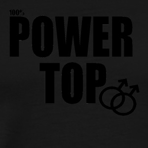 100% Power Top - Men's Premium T-Shirt
