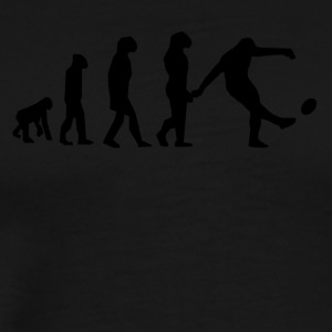 Rugby Kick Evolution - Men's Premium T-Shirt