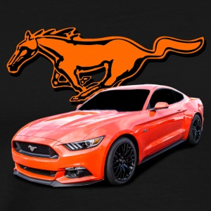 mustang orange - Men's Premium T-Shirt