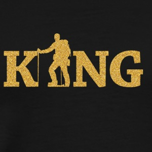 Mountain Climbing King - Men's Premium T-Shirt