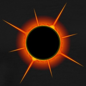 Eclipse august17 - Men's Premium T-Shirt