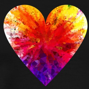 Colorful Heart - Men's Premium T-Shirt