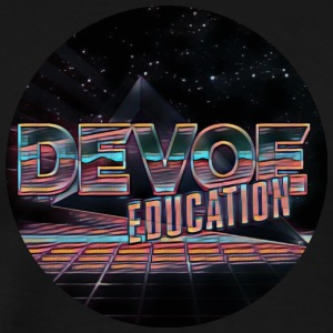 DeVoe Education Logo (Eighties Style) - Men's Premium T-Shirt