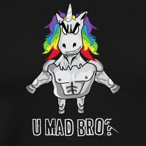 Unicorn mad bro - Men's Premium T-Shirt