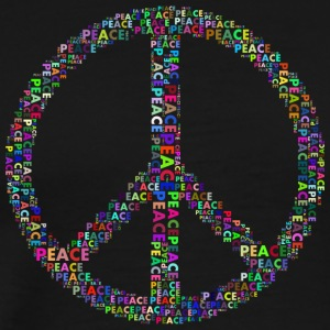 peace colorful - Men's Premium T-Shirt