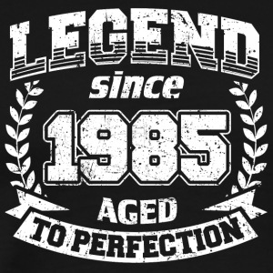 Vintage Legend Since 1985 Aged To Perfection Shirt - Men's Premium T-Shirt