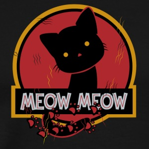 Jurasic Cat Meow Meow - Men's Premium T-Shirt