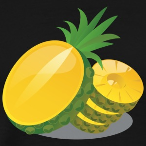 Pineapple Illustration - Men's Premium T-Shirt