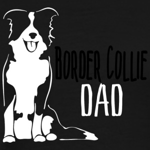 Border Collie Dad - Men's Premium T-Shirt