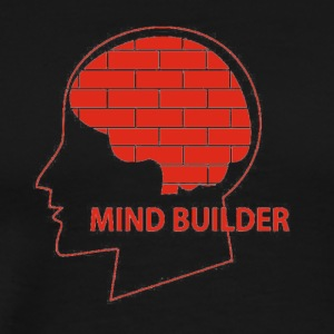mind builder - Men's Premium T-Shirt