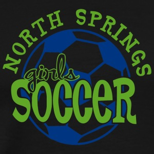 North Springs Girls Soccer - Men's Premium T-Shirt