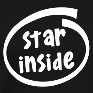 star inside (1801B) - Men's Premium T-Shirt