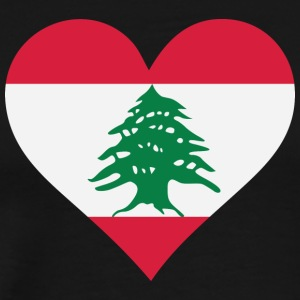 A Heart For Lebanon - Men's Premium T-Shirt