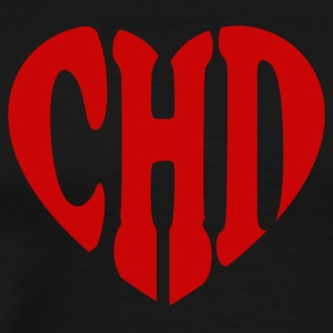CHD Heart - Men's Premium T-Shirt