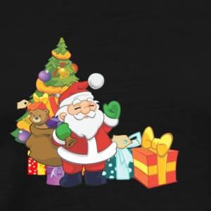Santa Claus Christmas - Men's Premium T-Shirt